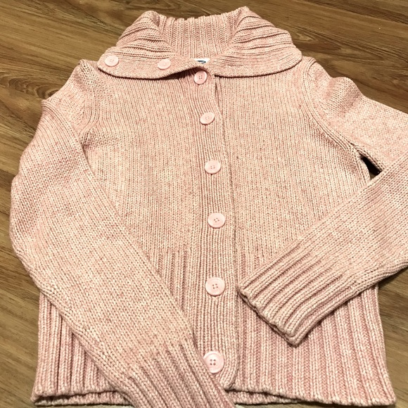 Old Navy Knit Cardigans Large Pink & Black Avail